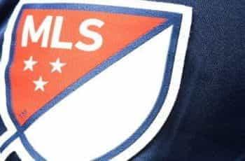 An MLS football strip.