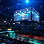 Esports arena.