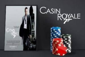 Movie poster for the film Casino Royale.