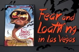 Movie poster for the film Fear and Loathing in Las Vegas.