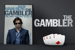 Movie poster for the film The Gambler.