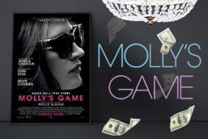 Movie poster for the film Molly's Game.