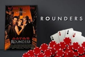 Movie poster for the film Rounders.