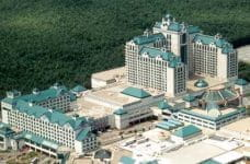 The Foxwoods Casino, Connecticut.