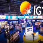 IGT gaming display.
