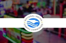 The National Indian Gaming Commission logo.