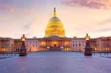 The Capitol building, Washington D.C.