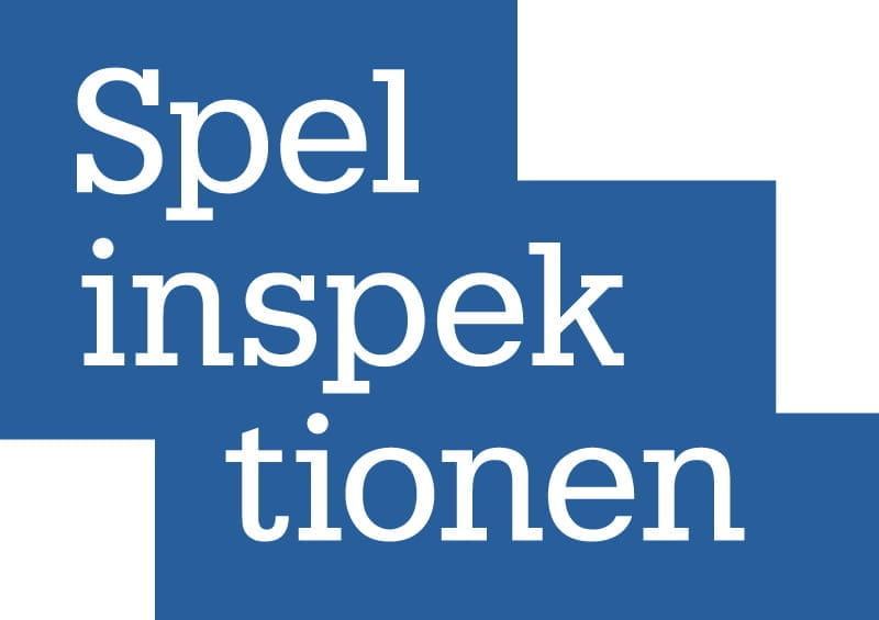 The logo of Sweden's gambling regulatory body, the Spelsinspektionen.