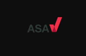The logo of ASA.
