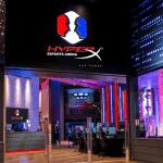 Lobby inside the Hyper X Esports Arena.
