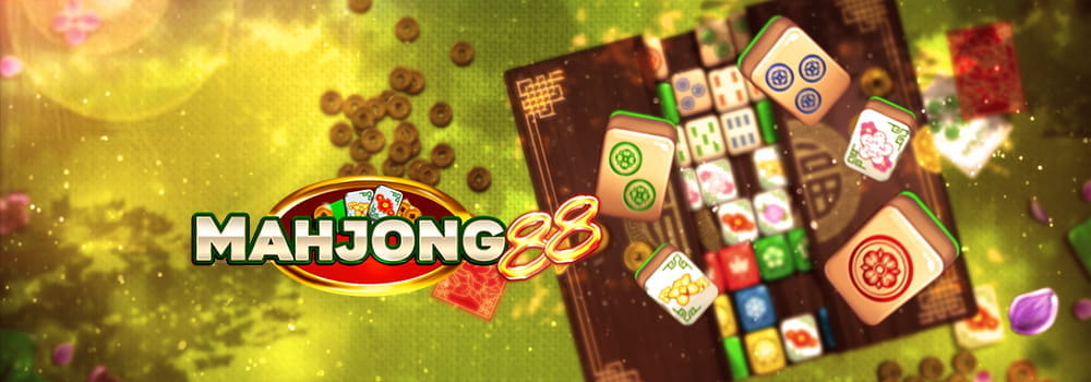 The colorful illustration for Mahjong88, a slot game from Play'nGO.
