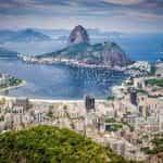 An aerial view of Brazil's Rio de Janeiro.
