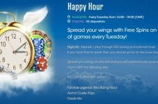 The Happy Hour promotion from Sloty.