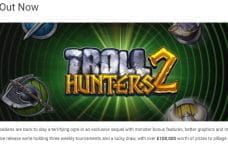 The Troll Hunters 2 promotion from Unibet.