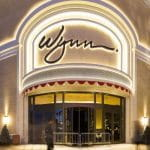 The entrance to the Wynn Casino in Las Vegas.