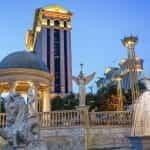 Caesars Palace casino exterior in Las Vegas.