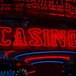 A red neon sign says CASINO.