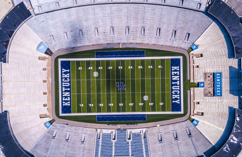 An American Football Stadium for a Kentucky College team.