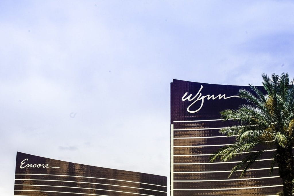 The Wynn Casino and Encore buildings in Las Vegas.