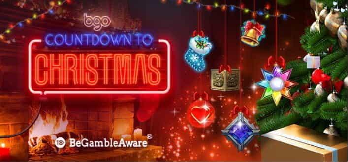 Countdown to Christmas at BGO online casino.