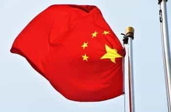 China national flag.