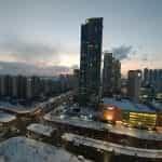 Incheon in winter.
