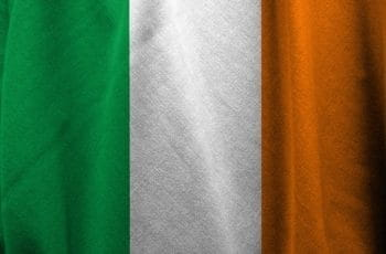The flag of the republic of Ireland.