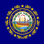 New Hampshire flag.