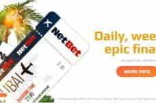 Big Challenges Bigger Rewards promotion from NetBet.
