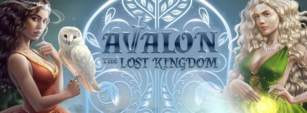 Avalon the Lost Kingdom slot cover.