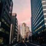 Tokyo city center.
