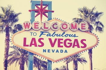 The Welcome to Fabulous Las Vegas sign.