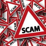 Scam warning signs.
