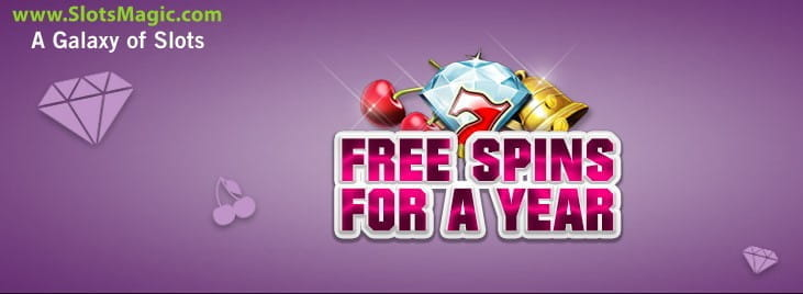 SlotsMagic Free Slots for a Year Bonus - Online-Casinos.com