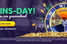 The Big Wins-Day bonus from Wink Slots.