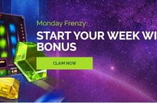 The WixStars Monday Frenzy bonus.