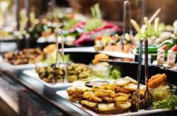 A buffet.