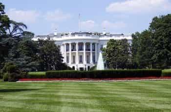 The US Presidents White House in Washington D.C.