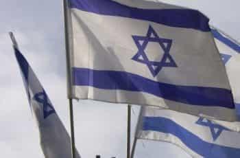 Israel flag.