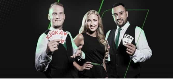 Unibet online casino live croupiers.