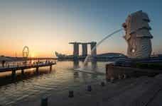 Marina Bay Sands hotel bay.