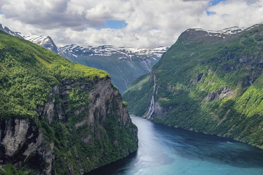 A fjord in Norway.