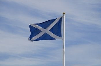 Scotland flag.
