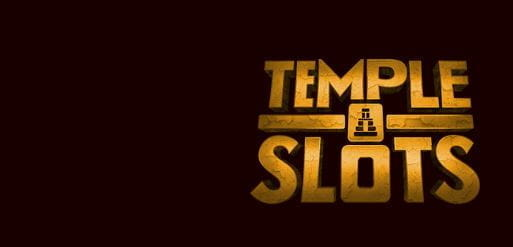 The Temple Slots logo.