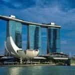 Marina Bay Sands casino.
