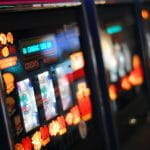 Gambling machines.
