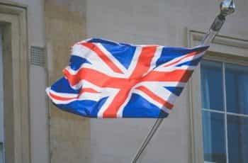 Union Jack flag.