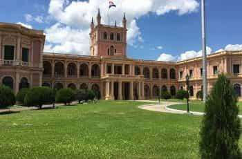 The Presidential Palace in Asunción, Paraguay.