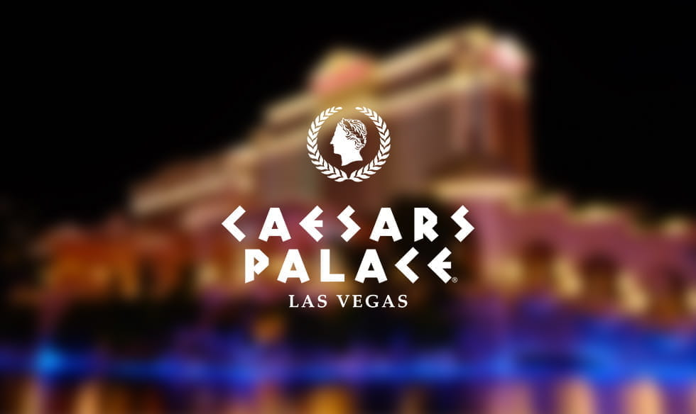 The logo for Caesars Palace, Las Vegas.