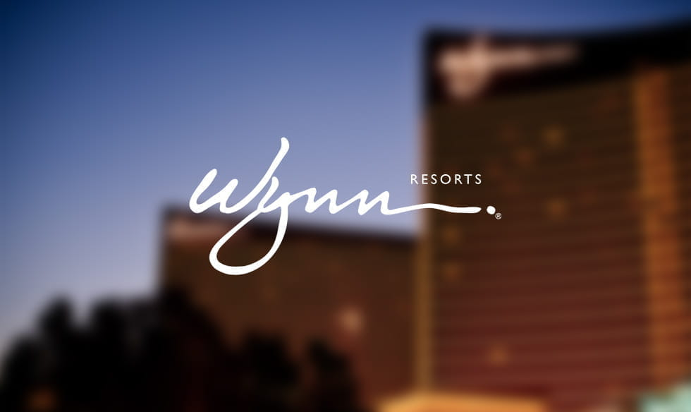 The logo for Wynn Resorts.